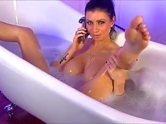 Lily Roma Teases In The Bath