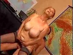 mature teacher fucked by student