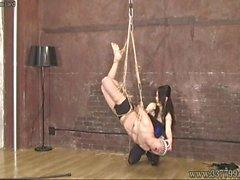 Masochist man go is captive of bondage Mistress Land