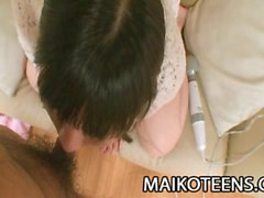 Akari Maeda - Pretty Oriental Teen Thrilling Sex