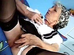 German old lady With fur covered vagina In Classic hook-up