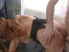 Sexy mature moms pleasing young sons