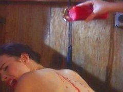Slave lesbico camera di trattamento Sculacciare
