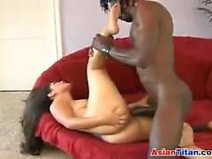 Horny Thai Whore And A Big Black Cock