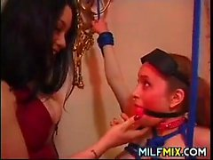 Teen Slave Gets Dominated