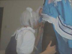 Touhou Cosplay - Sakuya and Yuyuko