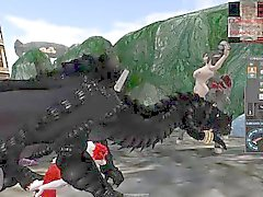 Orgia Feral dragoni , draconici , Anthros cani ed altre