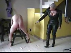 german mistress in leather