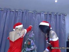 Julkul på Ben Dovers Säng