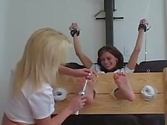 Britney Tickles Crissy Moran
