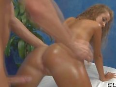 blonde babe gets to be fingered and clit stimulated