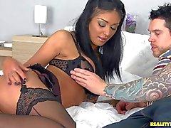 Lesbian stocking fetish 2