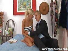 Italian Amateur Rosanna e Padre