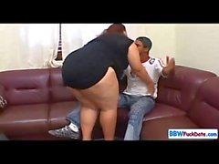 Interracial BBW Sex