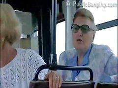 AMAZING sex at a PUBLIC bus