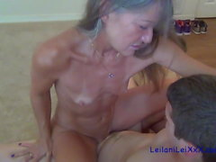 Milf Seduces the Young Neighbor
