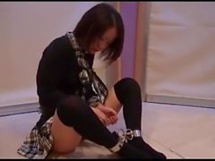 ChineseSchoolgirlShackled&Gagged