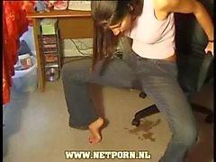 Gerne nassen Jeans