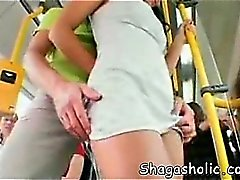 Girl fucked in the bus - Shagasholi
