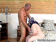Slutty brunette MILF gets pounded hard