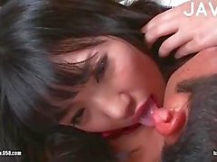 Japanese teenie soft kisses