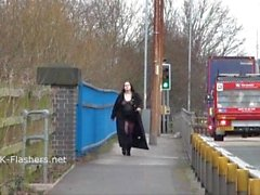 Emmas bbw flashing and amateur public nudity of masturbating girl next door
