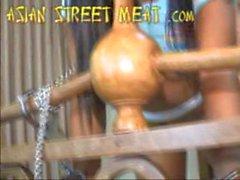 Crouching Dog Chain Cutie 2