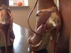Hot Shoe Worship Masturbation shoejob