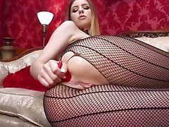 Stella Cox's First Anal Fisting and DP
