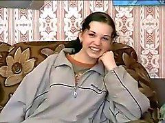 Russian Brunette Casting BVR