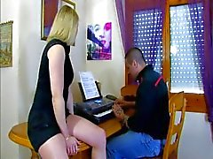 French Lady Margaux gives a special piano lesson