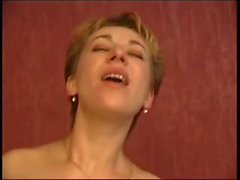 Russian Mature Mom and her guy son! Amateur!