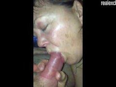 På 50 års gammala den Brenda njuta 2 cocks