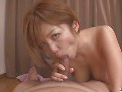 MILF Meguru Kosaka Sucks Dick And 69´s In POV