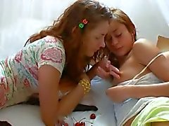 Insane czechian lesbo pussy eating