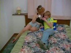 Russian Son Fucks Step-Mom