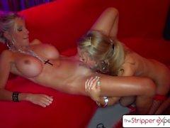 The StripperExperience - Nicole Aniston et Puma Swede, gros butin et gros seins