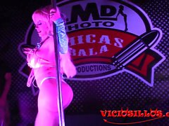 Blondie Fesse show con espontaneo SEB 2017