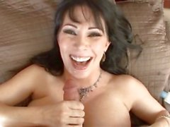 Sexy Rayveness has all the experienced needed to milk a meat pole