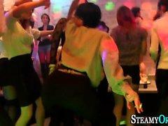 Cfnm whore sucks stripper
