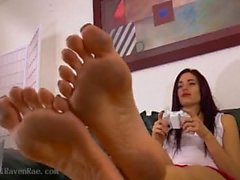 Gamer girl models sexy dirty soles