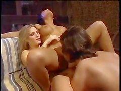 Manuel having fun with Eva and Harmony