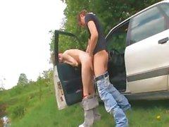 18летняя русская девушка совокупляться от автомобиля