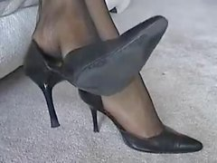 ebony sheer toes