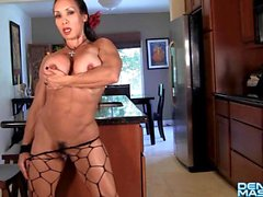 Denise Masino-New Dancing Shoes Video - Female Bodybuilder