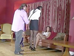 3 sıcak bitches hogtied