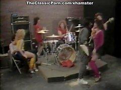Mei Ling, Crystal Lake, Theresa Jones in classic porn clip