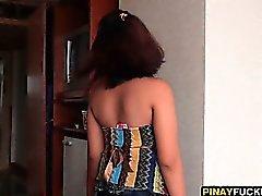 Filipina Chea Licks And Sucks Tourist Dick