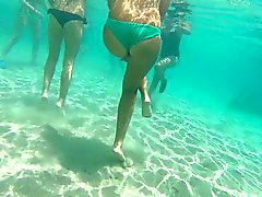 Итальянская подростков стринги GoPro подводный