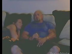Straight Bodybuilder Handjob & Blowjob